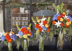 Tall & Showy Flowers, by Rainbows Flower Shop!